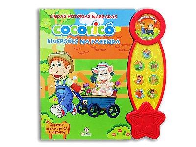 Livro Lindas Histórias Narradas Cocoricó - Diversões na Fazenda