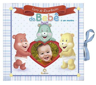 Livro de Recordações do Bebê Azul: É um Menino
