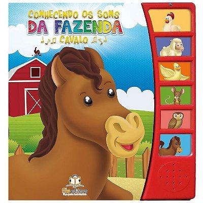 Livro Conhecendo os Sons da Fazenda: Cavalo