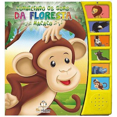 Livro Conhecendo os Sons da Floresta: Macaco