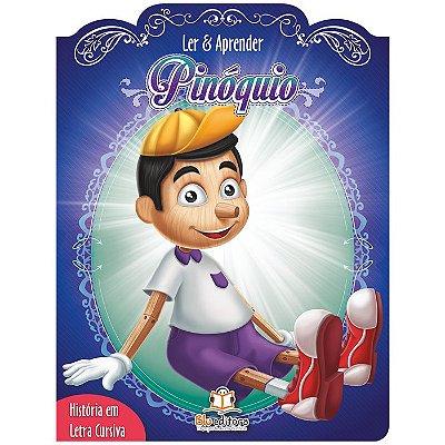 Livro Ler e Aprender: Pinóquio