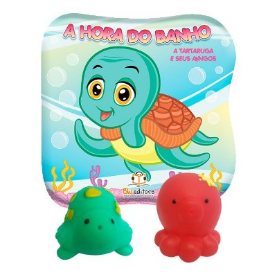 Livro A Hora do Banho: A Tartaruga e Seus Amigos