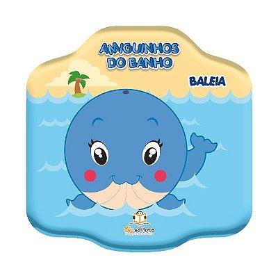 Livro Amiguinhos do Banho: Baleia