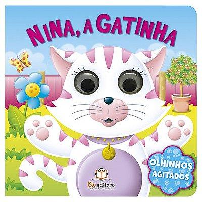 Livro Olhinhos Agitados: Nina, a Gatinha