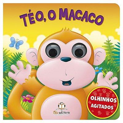 Livro Olhinhos Agitados: Téo, o Macaco