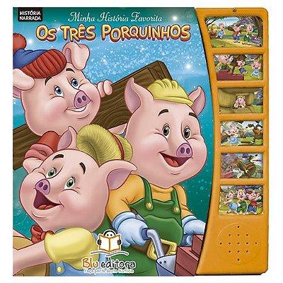 Livro Minha História Favorita: Os Três Porquinhos