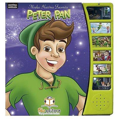 Livro Minha História Favorita Peter Pan