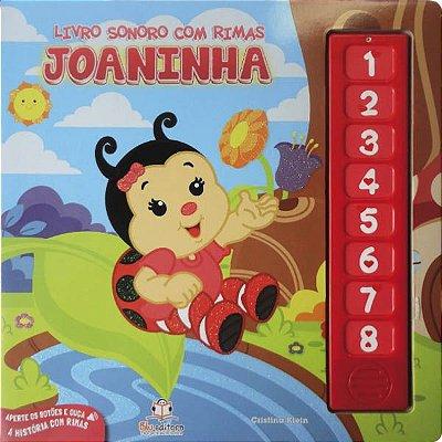 Livro Sonoro com Rimas: Joaninha