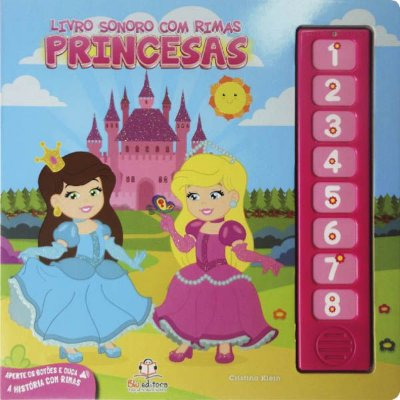 Livro Sonoro com Rimas: Princesas