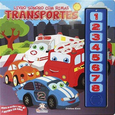 Livro Sonoro com Rimas: Transportes