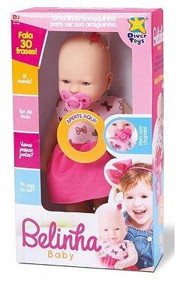 Brinquedo Boneca Belinha Baby