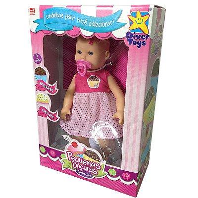 Brinquedo Boneca Pequena Doçura Cupcake