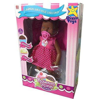 Brinquedo Boneca Pequena Doçura Brigadeiro