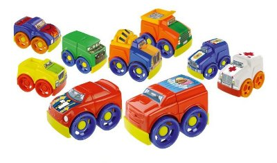 Brinquedo Carrinhos de Montar