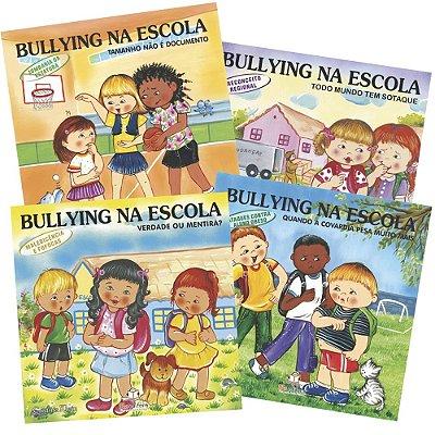Coleção Completa Bullying na Escola com 20 Livros