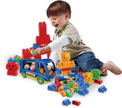 Brinquedo de Montar Bus Box