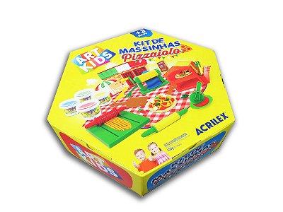 Super Kit de Massinhas Pizzaiolo Acrilex