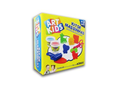 Mini Kit de Massinhas 300g Art Kids Acrilex