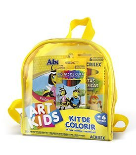 Kit de Colorir Mochila Acrilex