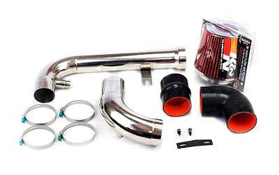 Cold Air Intake alto fluxo VW Jetta 2.0 TSI 200cv em aço inox 409 - 2010 à 2013