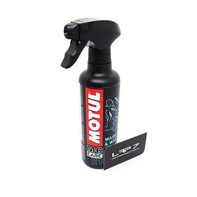 Motul E1 Wash & Wax - Limpeza a seco