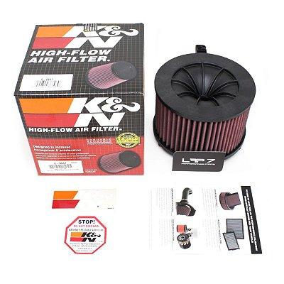 Filtro de ar esportivo Inbox K&N - Audi - E-0647