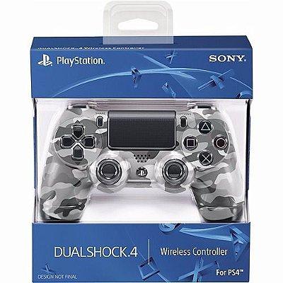 Controle Sony Dualshock 4 Camuflado - Sem Fio - PS4