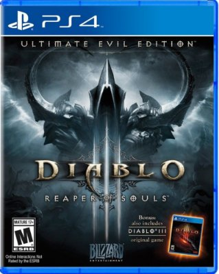 Jogo Diablo 3 Reaper Of Souls: Ultimate Evil Edition - Ps4