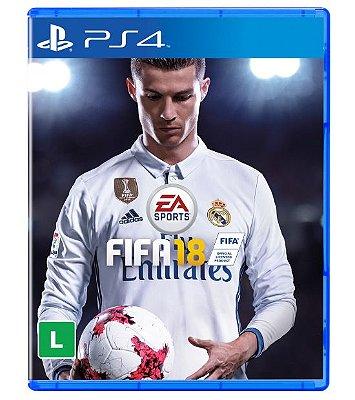 Jogo Fifa 18 2018 - PS4