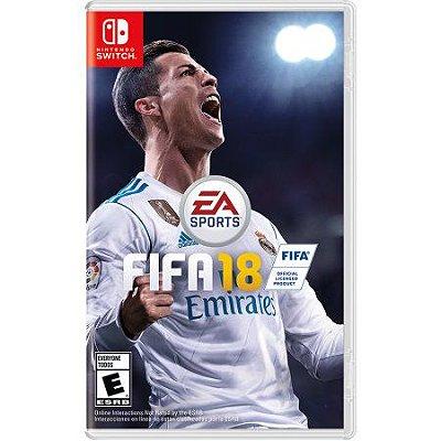 Jogo Fifa 18 2018 - Nintendo Switch