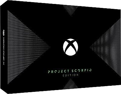 Console Xbox One X 1TB - Project Scorpio Edition - Lançamento