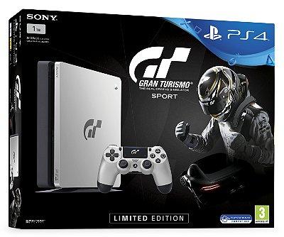 Console PlayStation 4 Slim 1tb Edição Limitada Gran Turismo Sport - Sony