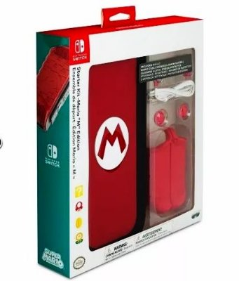 Kit Acessórios Nintendo Switch do Mario Odyssey - Especial - Oficial Nintendo
