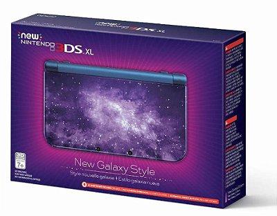 New Nintendo 3ds Xl Edição Galaxy - Nintendo