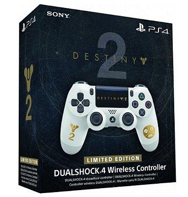 Controle Sony Dualshock 4 Destiny 2 Edição Limitada - Sem Fio - PS4