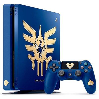 Console PlayStation 4 Slim 1 Tera tb - Edição Especial Dragon Quest - Sony