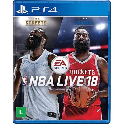 Nba Live 18 - PS4