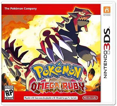 Pokémon Omega Ruby (Seminovo) - 3Ds