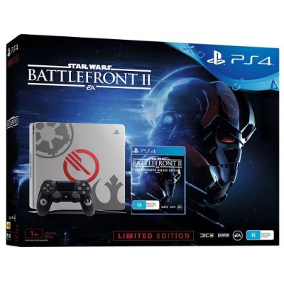 Console PlayStation 4 Slim 1 tb - Edição Limitada Star Wars Battlefront II - Sony