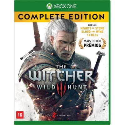 The Witcher III - Wild Hunt - Complete Edition - Xbox One - Seminovo