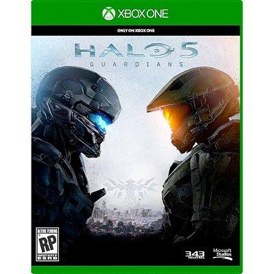 Halo 5 - Guardians - Xbox One - Seminovo
