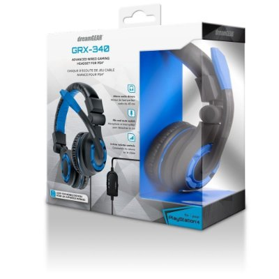 Headset Gamer Dreamgear GRX 340 Azul - xbox One - Nintendo - Ps4