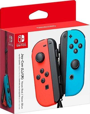 Controle Joy Con Nintendo Switch Par Neon - Switch