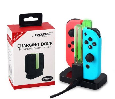 Carregador Joy Con Nintendo Switch Tetra Dock Charger - Switch
