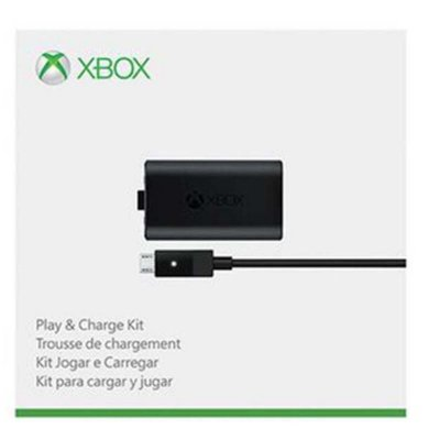 Kit Play And Charge (bateria + Carregador) - Xbox One