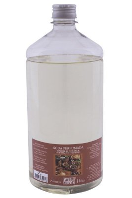 Água Perfumada Madeiras Nobres 1Litro Frasco Inquebrável