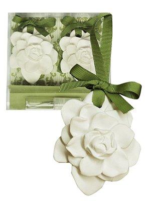Sachê Perfumado Gesso Par de Flores Bamboo Blend