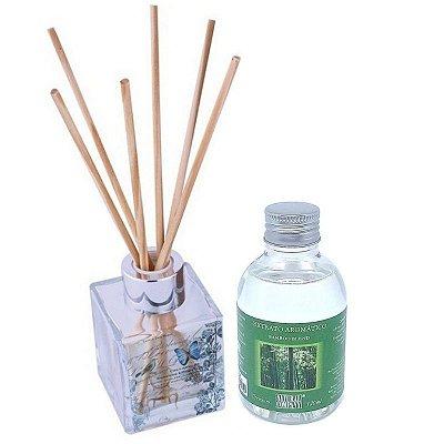 Difusor de Aromas Le Cube Bamboo Blend 120 ml - Kit Presente