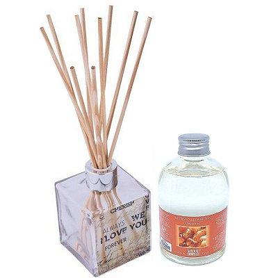 Difusor de Aromas Le Cube  Âmbar Real 315 ml - Kit Presente