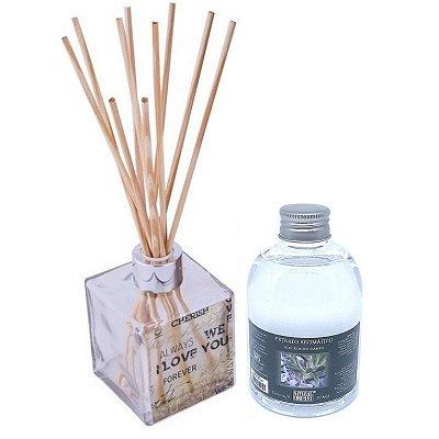 Difusor de Aromas Le Cube  Alecrim do Campo 315 ml - Kit Presente